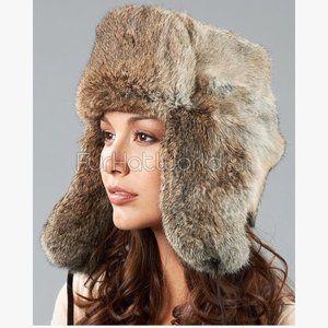 FRR Canada Rabbit Fur Russian Trooper Hat